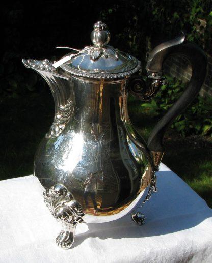 sterling zilver koffiepot
