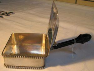 zilveren asbakleger d'aubert