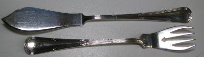 zilver viscouverts kruisband rondfilet