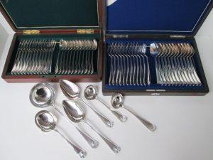 12 personen zilver bestek