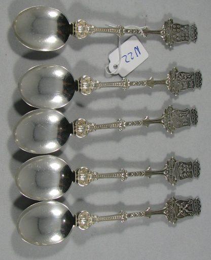 zilveren theelepel douwe egberts