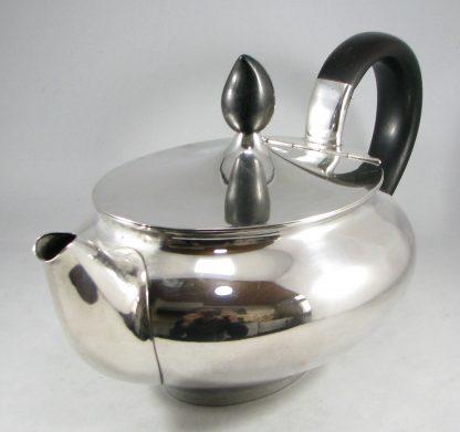 zilveren theepot