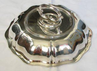 massief zilver dekschaal