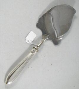 zilveren kaasschaaf puntfilet