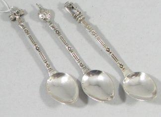3 theelepels zilver 925 argentina
